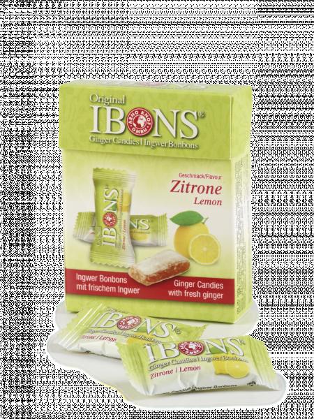 IBONS Ingwer Zitrone