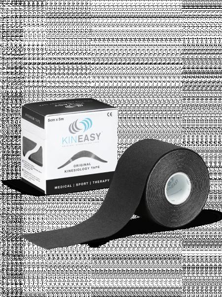 Kinesio Tape, KINEASY 5cmx5m, schwarz