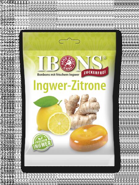 IBONS Ingwer Zitrone zuckerfrei