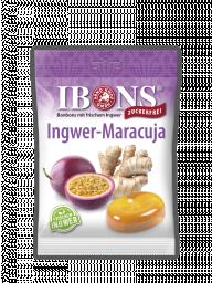 IBONS Ingwer Maracuja zuckerfrei